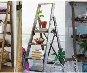 Aprende a Reutilizar las Viejas Escaleras (15 Ideas)
