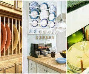 Prácticas y Creativas Formas de Organizar los Platos de la Cocina