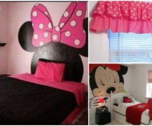 15 Ideas para Decorar una Habitación con la Temática de Minnie Mouse