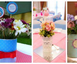 Formas de Adornar con Centros de Mesa Florales