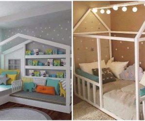 Hermosas Decoraciones de Habitaciones Infantiles en Tonos Pastel