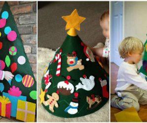 Pinos Navideños Especiales Para Cuando Tienes Pequeñitos en Casa