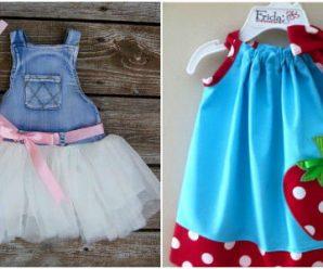 13 Increíbles Ideas para Diseñar Vestidos para Pequeñitas