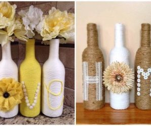 Forma Palabras con Creativas Botellas Decoradas