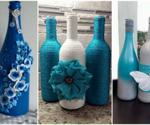 Hermosas Ideas para Decorar Botellas, Te Encantarán