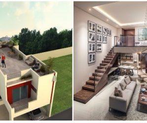 Diseños de Casas en Terrenos Pequeños