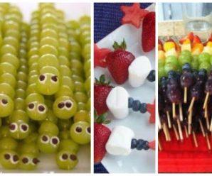 Ideas para Hacer Deliciosas Brochetas con Frutas