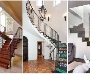 Modernos Diseños para Escaleras Interiores