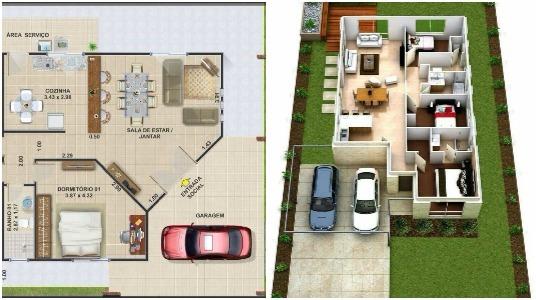 Planos para casas peque as inspirare y dise a tu hogar - Disena tu hogar ...