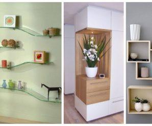 Estanterías para decoración u orden, además de belleza, te dan opciones de uso