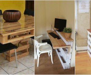 Muebles Completos con Palets… Ahorra, Decora, Reutiliza…
