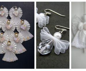 Crea pequeños angelitos u otros decorativos para tus recuerdos de fiesta