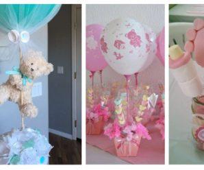 Despierta el amor total con estas ideas para un baby shower…