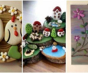 Hermosas Decoraciones que Puedes Realizar con Piedras