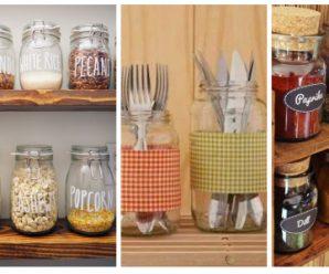 Dale practicidad y belleza a tu cocina con estos especieros