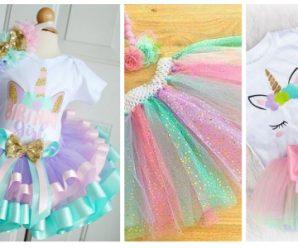 Hermosos trajes de unicornio para cualquier ocasión