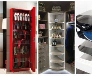 Mobiliarios para Poner en Orden tus Zapatos