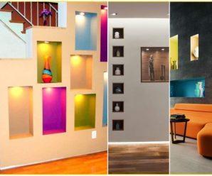 Hermosos estantes para tu paredes