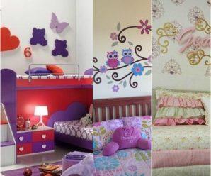 """Bellas, funcionales y tiernas habitaciones para la """"peque"""" de la casa"""