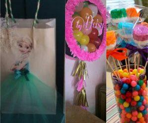 Detalles e ideas para fiesta de princesas