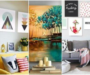 Ideas para Decorar tu Casa con Cuadros de Pintura