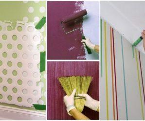 Ideas para Pintar y Embellecer las Paredes de tu Hogar